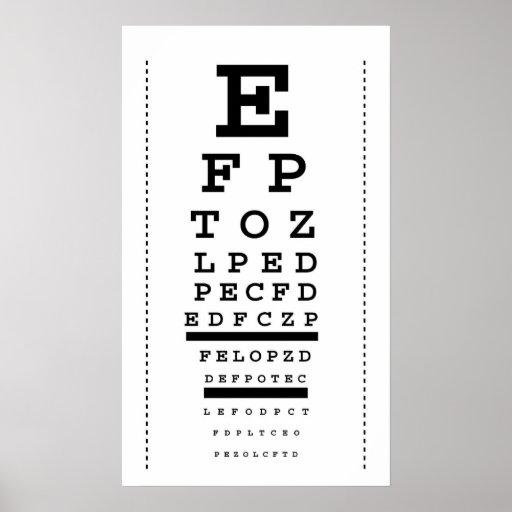 Sweet image throughout snellen eye chart printable
