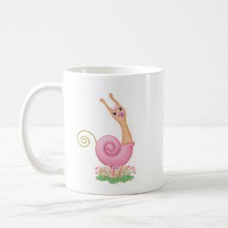 """Sneople"" Baby Girl Snail Mug"