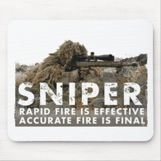 Sniper - Accurate Fire is Final Mouse Pad