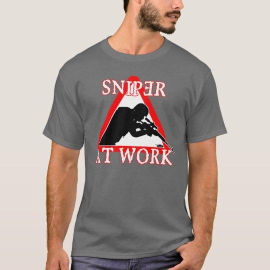 SNIPER AT WORK t-shirt
