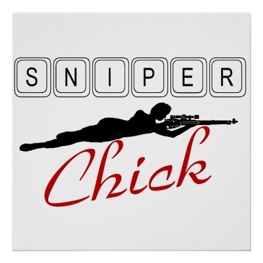 Sniper Chick Poster