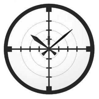 sniper finder target symbol weapon gun army clock