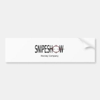 SnipeShow Hockey Co. Bumper Sticker