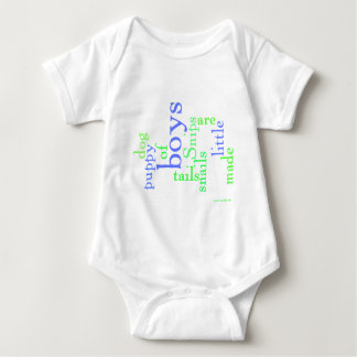 Snips and snails and puppy dog tails baby bodysuit