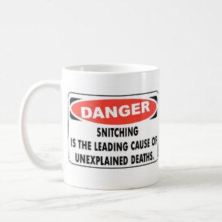 Snitching Basic White Mug
