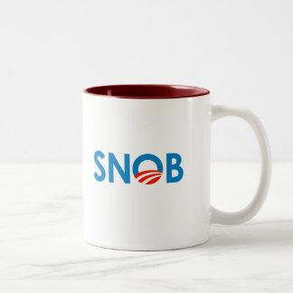 SNOBAMA  / ANTI-OBAMA COFFEE MUGS