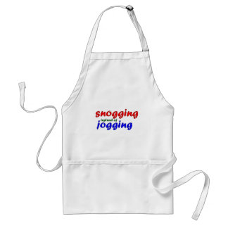 snogging instead jogging aprons