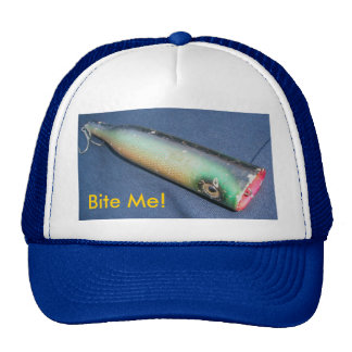 Snook Bait Co Bite Me! Vintage Lure Hat