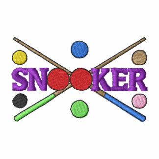 Snooker Embroidered Polo Shirt