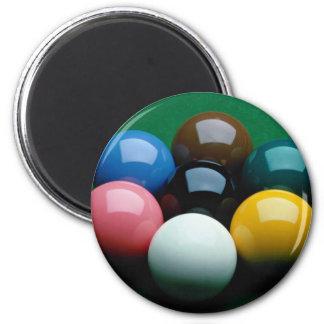 Snooker equipment refrigerator magnet