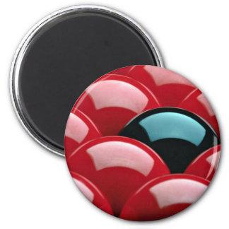 Snooker equipment magnet