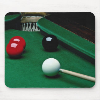 Snooker equipment mouse mat