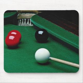Snooker equipment mouse mat