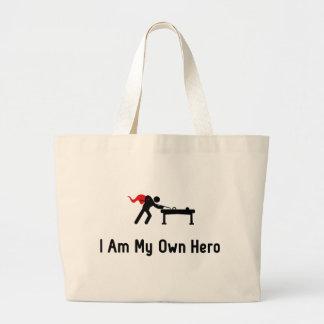 Snooker Hero Jumbo Tote Bag