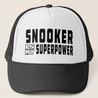 Snooker is my superpower trucker hat