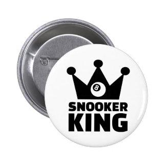 Snooker king crown pin
