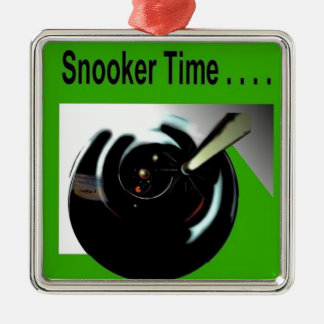 Snooker Lucky Christmas Ornament