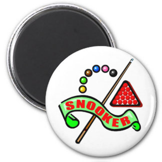 Snooker Pool 6 Cm Round Magnet