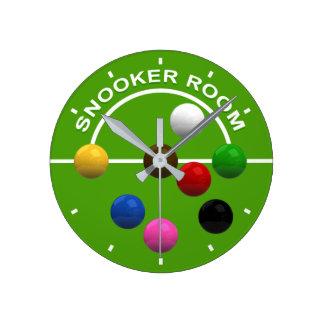 Snooker Room Clock
