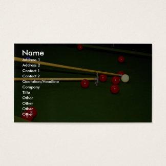 Snooker shot