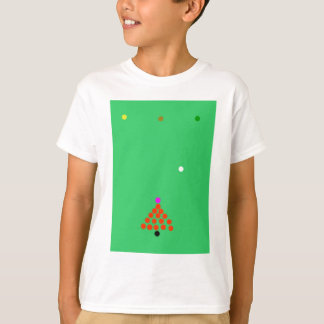 snooker the game t shirts