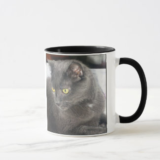Snoops Cat in Deep Thought Mug