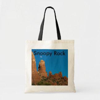 Snoopy Rock Tote Bag 3949