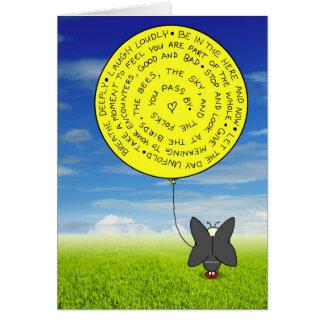 Snootch's balloon card