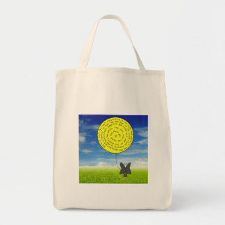 Snootch's Balloon Grocery Bag
