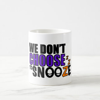 Snooze Coffee Mug