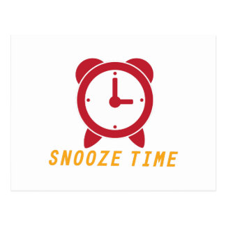 Snooze Time Post Card