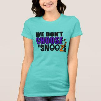 Snooze Women s T-Shirt Customizable