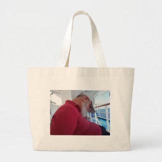 Snoozing Cruiser Canvas Bag
