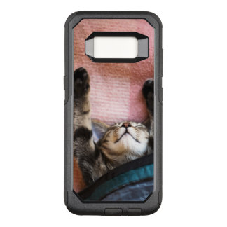 Snoozing Kitten OtterBox Commuter Samsung Galaxy S8 Case