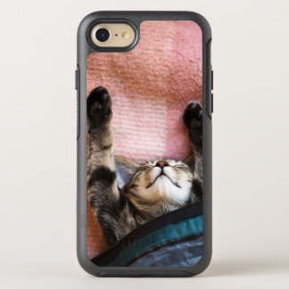 Snoozing Kitten OtterBox Symmetry iPhone 8/7 Case