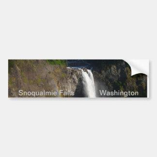 Snoqualmie Falls Bumper Sticker
