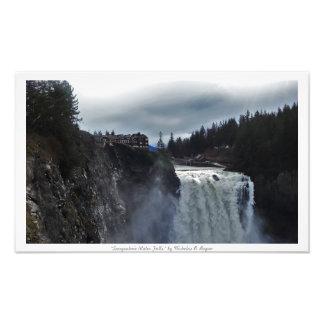 """Snoqualmie Water Falls"" Photo Prints"