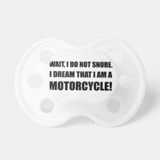 Snore Motorcycle Pacifiers