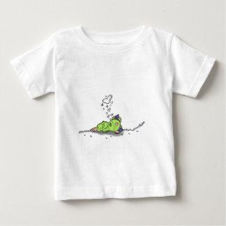 snoring hearts digital monster art baby T-Shirt