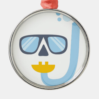 Snorkel Gear Christmas Ornament