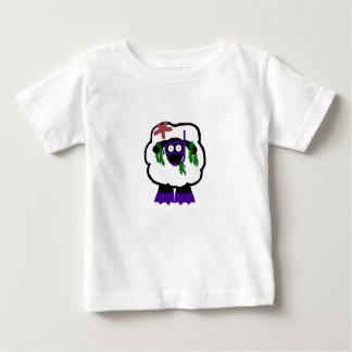 Snorkel Sheep Baby Shrit Baby T-Shirt
