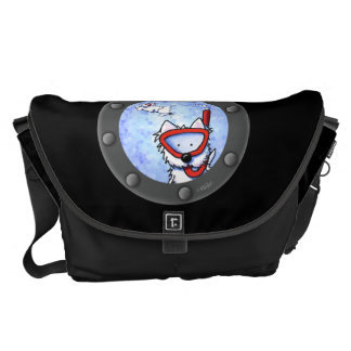 Snorkel Westies Porthole Messenger Bag