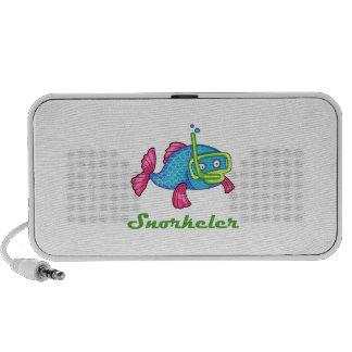 SNORKELER iPod SPEAKERS