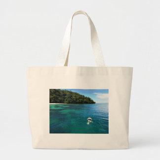 Snorkeling at Paradise Jumbo Tote Bag