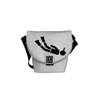 Snorkeling Messenger Bags