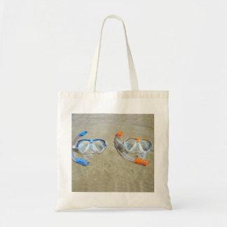 Snorkeling Pair Budget Tote Bag