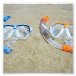 Snorkelling Pair Photo Art