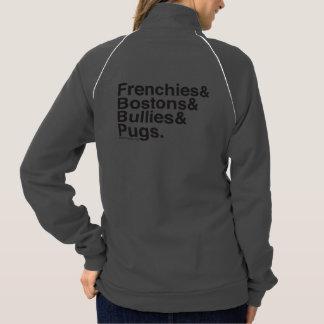 SNORT Helvetica zip up Jacket