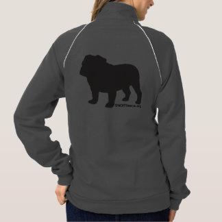 SNORT simple bulldog zip up Jacket