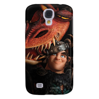 Snotlout & Hookfang Galaxy S4 Case